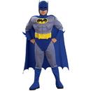 Rubies Costumes 185308 Batman Brave & Bold Deluxe M/C Batman Toddler / Child Costume - Medium (8/10)