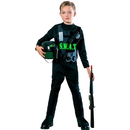 Rubies Costumes 185475 S.W.A.T. Team Child Costume - Small, Small