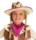 Princess Paradise 13007CE Rhinestone Cowgirl Child Hat