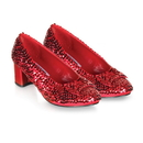 Pleaser Shoes 185856 Judy (Red Sequin) Child Shoes - Medium (13/1)