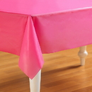 Creative Converting 192615 Candy Pink (Hot Pink) Plastic Tablecover