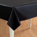 Creative Converting 192820 Black Velvet (Black) Plastic Tablecover