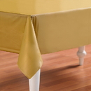 Creative Converting 192849 Glittering Gold (Gold) Plastic Tablecover