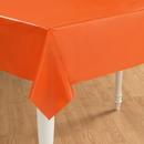 Creative Converting 192944 Sunkissed Orange (Orange) Plastic Tablecover