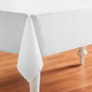 Creative Converting 193014 Bright White (White) Plastic Tablecover