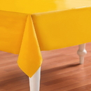 Creative Converting 193027 School Bus Yellow (Yellow) Plastic Tablecover