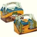 Party Destination Let's Go Camping Empty Favor Boxes