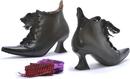 Ellie Shoes 301-AbigailBlkPU6 Witch Adult Boots, 6