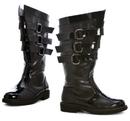 Ellie Shoes 125-DarthBlkM Dark Lord Adult Boots, Medium (10/11)