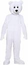 Forum Novelties 64249 Polar Bear Plush Economy Mascot Adult Costume