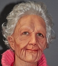 Zagone 196255 Supersoft Old Woman Adult Mask