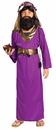 Forum Novelties 196285 Purple Wiseman size M(8-10)