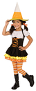 Palamon 1104.5 Little Candy Corn Witch Toddler / Child Costume