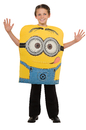 Rubies Costumes 886444-000-M Despicable Me-Deluxe Minion Dave Child Costume