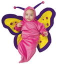 Rubies Costumes 197393 Butterfly Bunting Costume, 0-9 Months