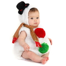 Princess Paradise 4148CE 12/18M Baby Snowman Infant / Toddler Costume, 12/18 Months