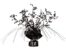 Beistle 57921 Black and Silver Musical Notes Foil Spray Centerpiece