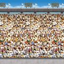 Beistle 203388 30' Upper Deck Stadium Backdrop