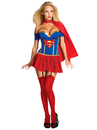 Rubies Costumes 889898-000-M Justice League - Supergirl Corset Adult Costume