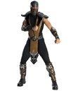 Rubies Costumes 211060 Mortal Kombat - Scorpion Deluxe Adult Costume, One-Size (Standard)