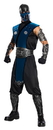 Rubies Costumes 211061 Mortal Kombat - Subzero Deluxe Adult Costume, One-Size