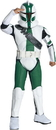 Rubies Costumes 884514S Star Wars The Clone Wars - Clone Trooper Commander Gree Child Costume, Small