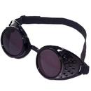 Forum Novelties 211720 Steampunk Goggles (Black), One-Size