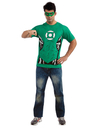 Rubies Costumes 880469-000-M Green Lantern (Male) T-Shirt Adult Costume Kit