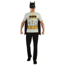 Rubies Costumes 212041 Batman T-Shirt Adult Costume Kit, Large