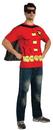 Rubies Costumes 880472-000-XL Robin (Male) T-Shirt Adult Costume Kit
