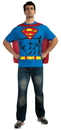 Rubies Costumes 212055 Superman T-Shirt Adult Costume Kit, Large