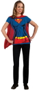 Rubies Costumes 212064 Supergirl T-Shirt Adult Costume Kit, X-Large