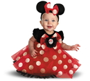 Disguise 214013 Disney Red Minnie Mouse Infant Costume , 12/18 Months