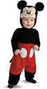 Disguise 214014 Disney Mickey Mouse Infant Costume, 6/12 Months