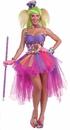 Forum Novelties 214253 Tutu Lulu The Clown Adult Costume, One Size (Standard)