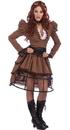 Forum Novelties 214315 Steampunk Vicky Adult Costume, One Size