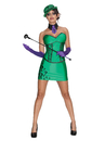 Rubies Costumes 880811-000-S Batman Super Villain Riddler Adult Costume