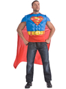Rubies Costumes 880530-000-STD DC Comics Superman Muscle Chest Adult Costume Kit