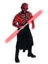Rubies Costumes 880675-000-STD Star Wars Darth Maul Deluxe Muscle Chest Adult Costume