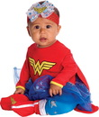 Rubies 216177 Wonder Woman Onesie Infant Costume, 6-12 Months