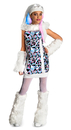 Rubies Costumes 881362-000-L Monster High Abbey Bominable Child Costume
