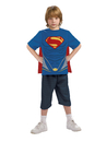 Rubies 886897-000-S Superman-Man of Steel-Child Costume Top and Cape