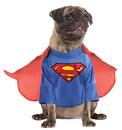 Rubies 217516 Superman Dog Jumpsuit w/cape Small