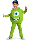 218174 Disguise Monsters U Mike Toddler/Child Costume, Small (2T)