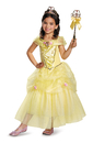 Disguise Disney Belle Deluxe Sparkle Toddler/Child Costume
