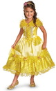 218209 Disguise Disney Belle Deluxe Sparkle Toddler/Child Costume, Medium (7-8)