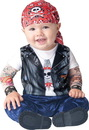 218321 In Character Born to be Wild Infant/Toddler Costume, Medium (12/18M)