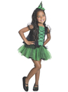 Rubies Costumes 881420-000-S Wizard of Oz - Girls Tutu Wicked Witch of the West Costume