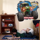 Birthday Express 229070 Monster Jam Grave Digger 3D Giant Wall Decals