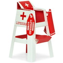 Birthday Express 229757 Splashin' Pool Party Lifeguard Chair Placecard Holder Tabletop Decorations